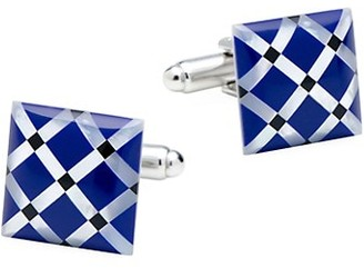 Cufflinks Inc. Ox & Bull Trading Co. Mother Of Pearl Diamond Cufflinks