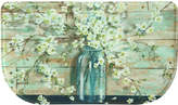 "Bacova Blossoms in Jar 18"" x 30"" Slice Accent Rug"