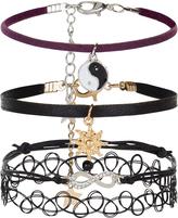 Accessorize 4x Tattoo Mystic Friendship Bracelet Pack