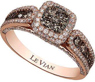 LeVian 14K Rose Gold 1.41 Ct. Tw. Diamond Ring