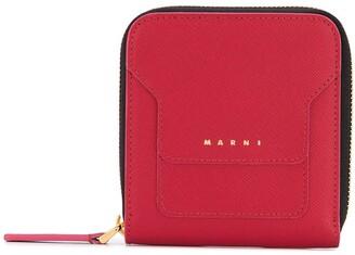 Marni Zip Leather Wallet