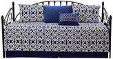 """Serenta Montegomery 6 Piece Quilted Daybed Set, Blue, Daybed (75"""" X 39"""")"""