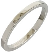 Tiffany & Co. Platinum Simple Wedding Band Size 8 Ring