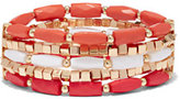 Five-Row Beaded Stretch Bracelet