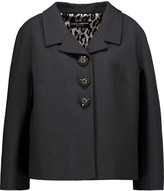 Dolce & Gabbana Crepe de chine blazer