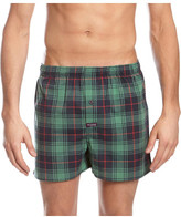 Mitch Dowd The Check Stretch Yarn Dyed Woven Boxer