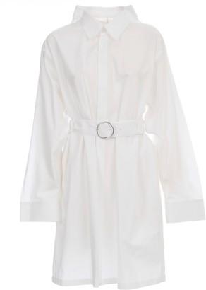 Maison Margiela Belted Shirt Dress