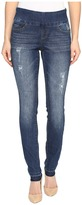 Jag Jeans Nora Pull-On Skinny Comfort Denim in Durango w/ Holes Women's Jeans