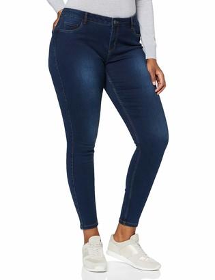 Vero Moda Women's Vmseven MR S Shape UP J VI342 GA NOOS Jeans