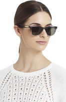 BCBGMAXAZRIA Translucent Wayfarer Sunglasses