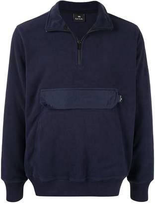 Paul Smith flap pocket sweatshirt