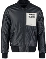 Rocawear Game Faux Leather Jacket Black