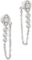 Bloomingdale's Diamond Front-Back Drop Earrings in 14K White Gold, .25 ct. t.w.