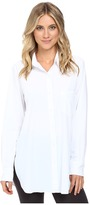 Lysse Schiffer Stretch Button Down