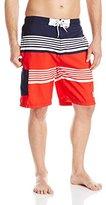 U.S. Polo Assn. Men's Americana Stripe Board Short
