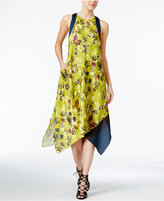 Rachel Roy Floral-Print Scarf Dress, Only at Macy's