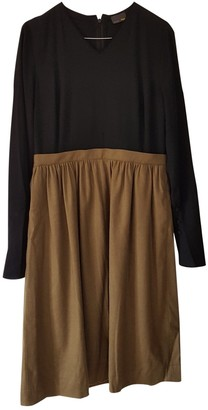 Fendi Brown Wool Dresses