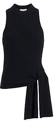 3.1 Phillip Lim Women's Rib-Knit Sleeveless Wool-Blend Pullover