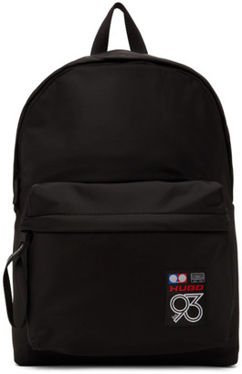 HUGO Black 93 Berlin Record Backpack