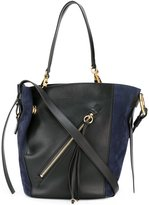 Chloé Myer tote bag - women - Cotton/Calf Leather/Calf Suede - One Size