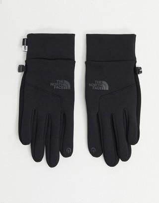 The North Face Etip glove in black