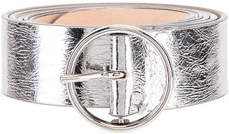 Maison Margiela Single Buckle Belt in Silver | FWRD