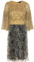Burberry Macrame Lace Dress