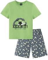 Schiesser Boy's Fussball Knaben Schlafanzug Kurz Secondary Sleeping Suits