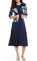 Jessica Howard Floral 2-Piece Jacket Dress