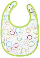 JJ Cole 0-6 Months Soft Bib, Primary Rings