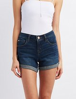 "Charlotte Russe Refuge """"Girlfriend"""" Denim Shorts"