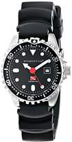 Momentum Women's 1M-DV45B1B Torpedo Pro Analog Display Japanese Quartz Black Watch