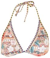 Topshop Floral aztec print triangle bikini top