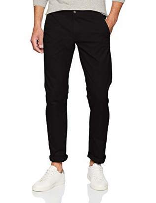 Dockers Alpha Khaki Tapered Stretch Twill Slim Trousers