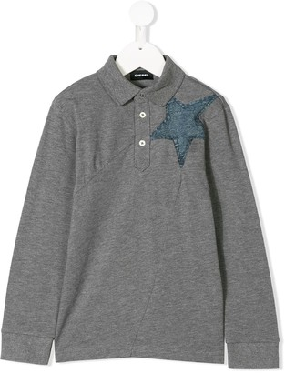 Diesel Denim Star Polo Shirt