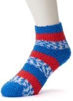 For Bare Feet Women's Detroit Pistons Pro Stripe Sleep Socks