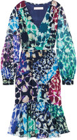 Matthew Williamson Printed silk-chiffon dress