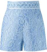 Martha Medeiros high-waisted lace shorts