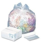 Webster INDUSTRIES WHD2431 High Density Can Liners, 16gal, .315mil, 24 x 33, Natural, 200/Carton