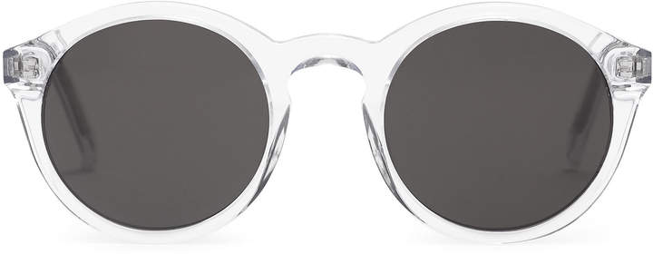 Reiss Barstow - Monokel Eyewear Keyhole Sunglasses in Crystal
