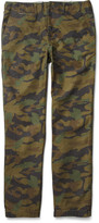 Beams Camouflage-Print Cotton Trousers