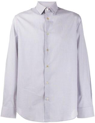 Paul Smith micro check shirt