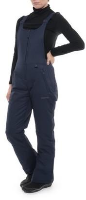 Ski Gear by Arctix Women's Essential Snow Bib Overall Pant, Blue Night, Small