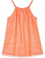 River Island Mini girls coral trapeze dress