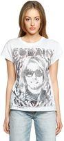 R 13 Kurt Cotton & Cashmere Jersey T-Shirt