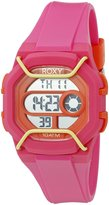 Roxy Women's RX/1015PKOR Digital Display Japanese Quartz Pink Watch
