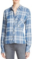 Rails Carter Plaid Chambray Shirt