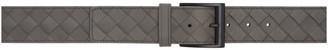 Bottega Veneta Grey Intrecciato Belt