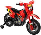 Red 6V Ride-On Dirt Bike