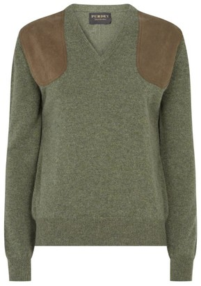 Purdey V-Neck Shooting Sweater